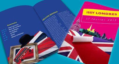 Brochure promo Paris - Londres
