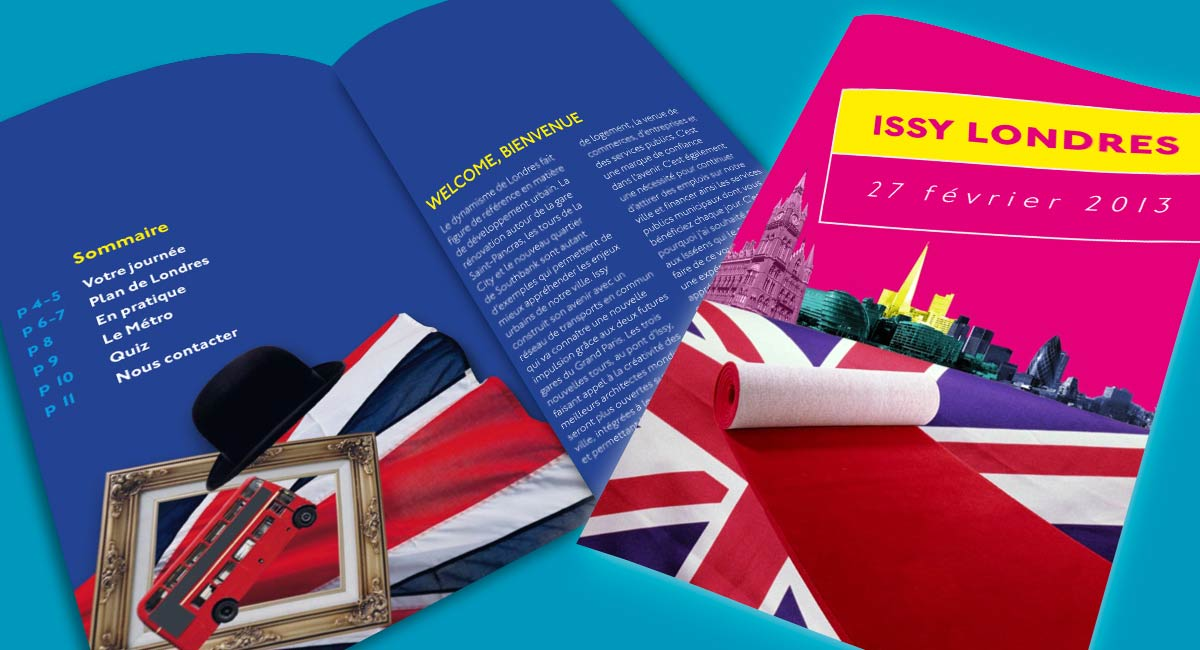 Brochure promotionnelle Issy Londres