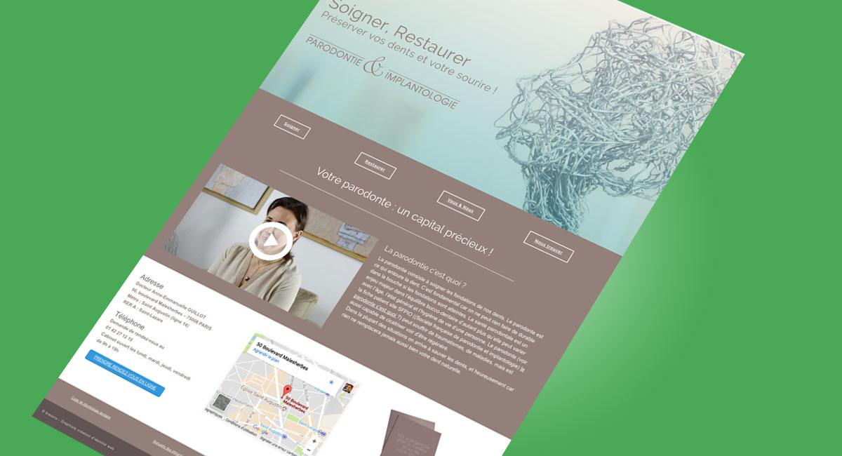 webdesign et interview vidéo